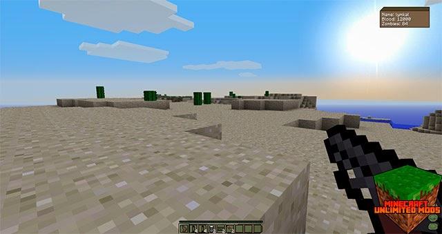 DayZ mod Minecraft armas
