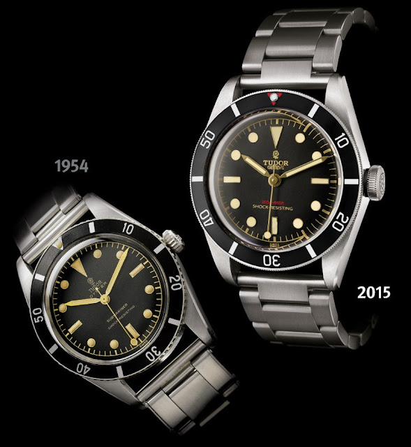 TUDOR SUBMARINER Y TUDOR HERITAGE BLACK BAY ONE