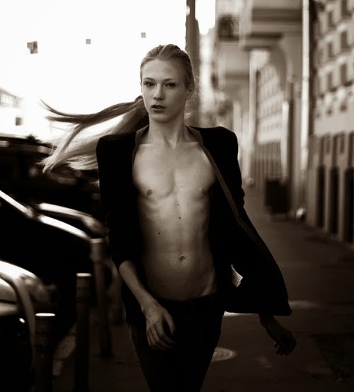 Stas Fedyanin - Androgynous Model