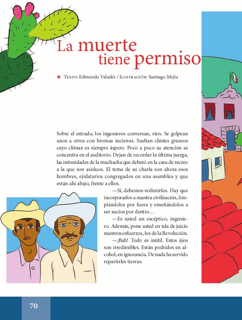 La muerte tiene permiso - Español Lecturas 5to 2014-2015