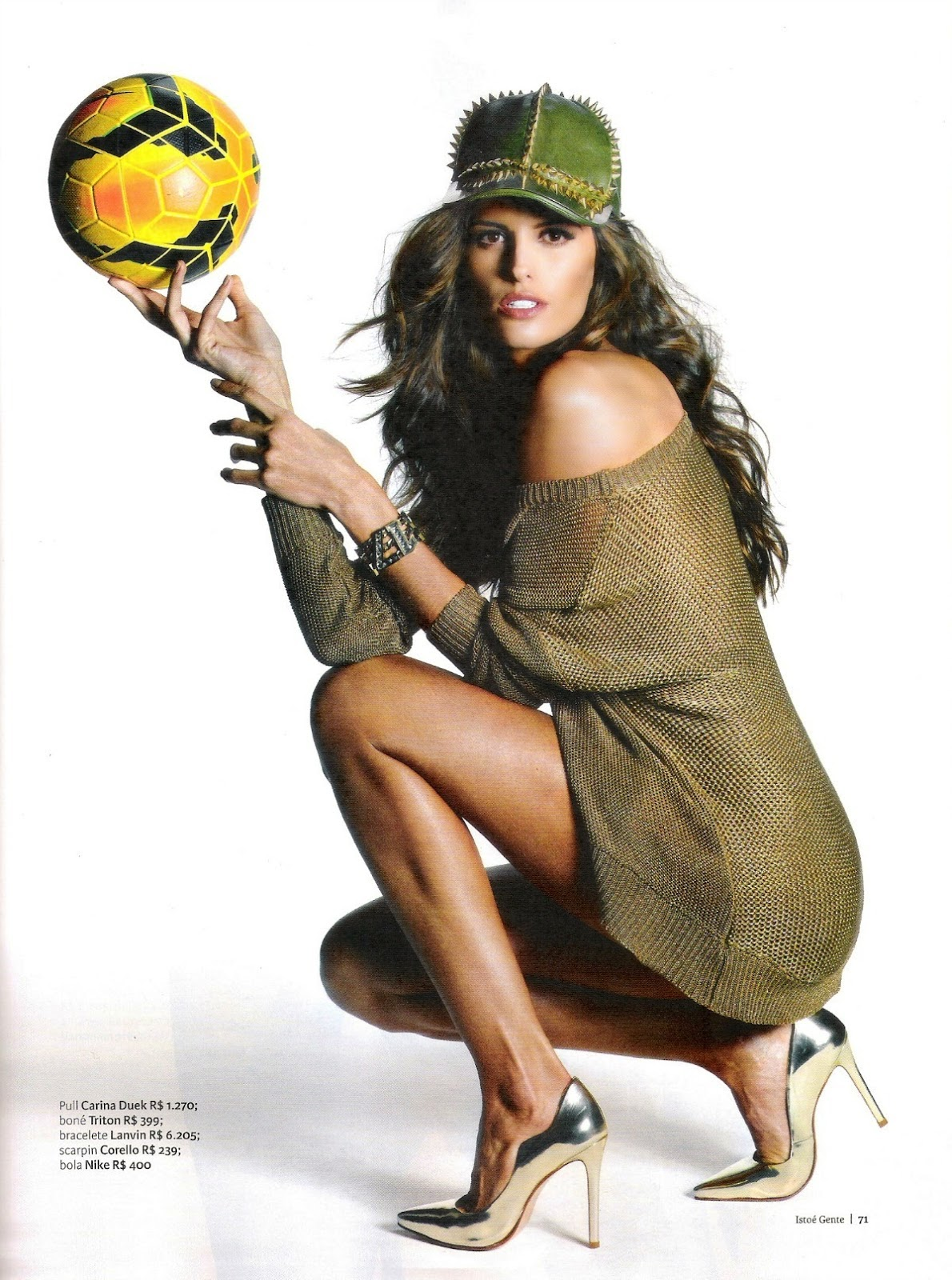 Izabel Goulart by Guy Paganini for Isto e Gente Magazine, June 2014