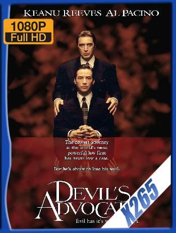 The Devil's Advocate (1997) x265 [1080p] [Latino] [GoogleDrive] [RangerRojo]