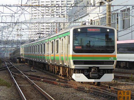 上野東京ライン 宇都宮線内ラビット1 E231系