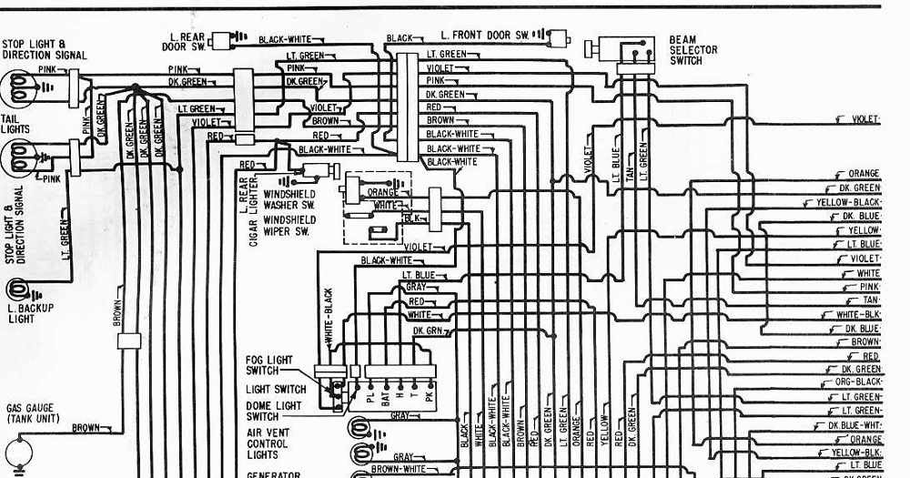Wiring Diagrams Schematics 1962 Cadillac Series 60 And 62