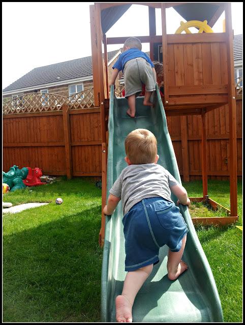 Climbing frame fun