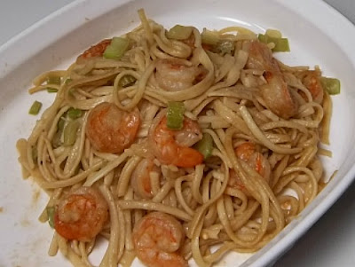 Thai Shrimp with Noodles