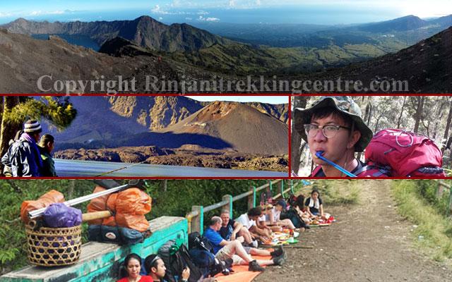 Trekking / Mendaki Gunung Rinjani Dari Desa Sembalun