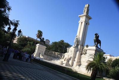Plaza de España in Cádiz