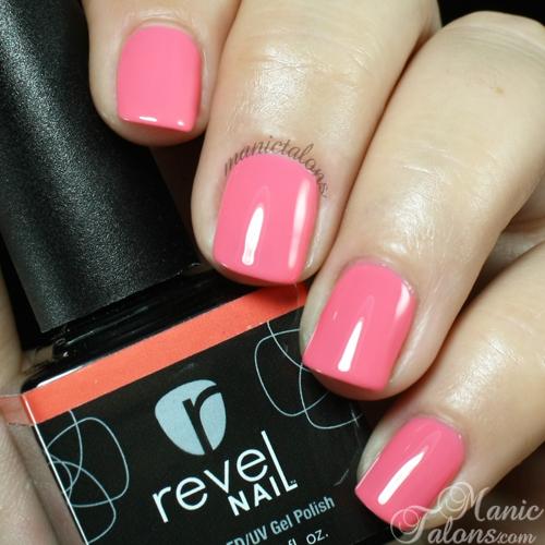 Revel Nail Gel Polish Rio de Jenairo Swatch