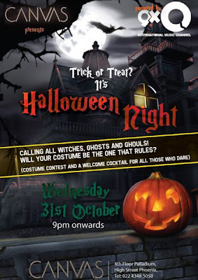 Halloween Nights at Canvas Mumbai