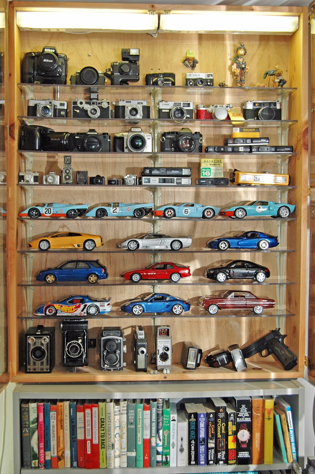 Have found a few collectible cameras, even though I don't collect ...