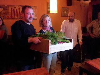 Segon premi del concurs de cuina amb ratafia