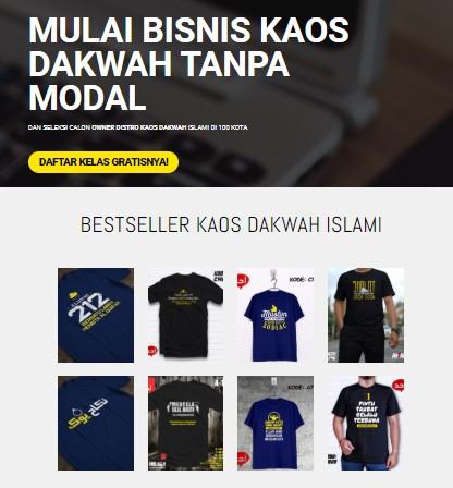 Peluang Bisnis Kaos Dakwah Islami