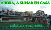 F11 / Cañuelas 0-0 SAN MIGUEL