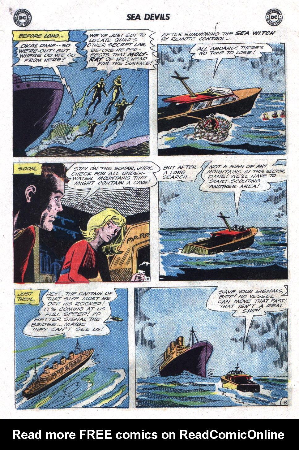 Read online Sea Devils comic -  Issue #21 - 26