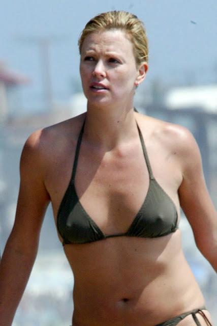 Charlize theron nude bikini pics 82