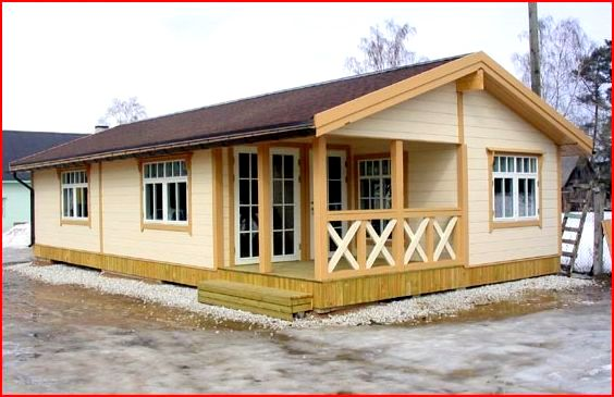 Real estate services simple designs of wooden house for Simple house design made of wood