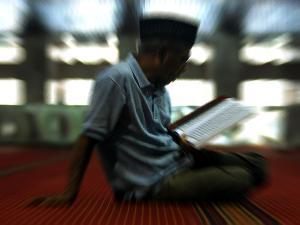 Mengaji Online di Masjid Akbar Surabaya