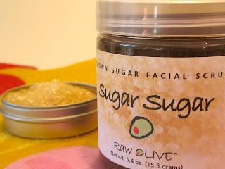 bworn sugar, honey, olive oil, natural, face, mask