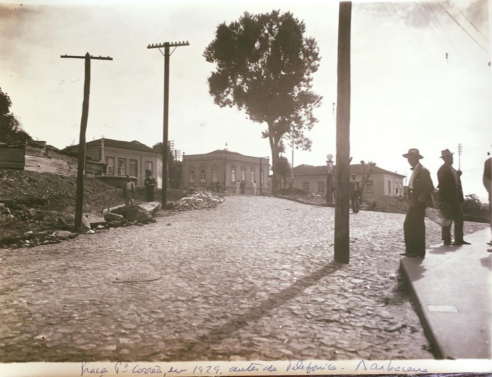 Praça Padre Correia 1929 - Barbacena MG