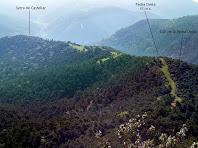 La Serra del Castellar des de l'inici del Grau de la Trona