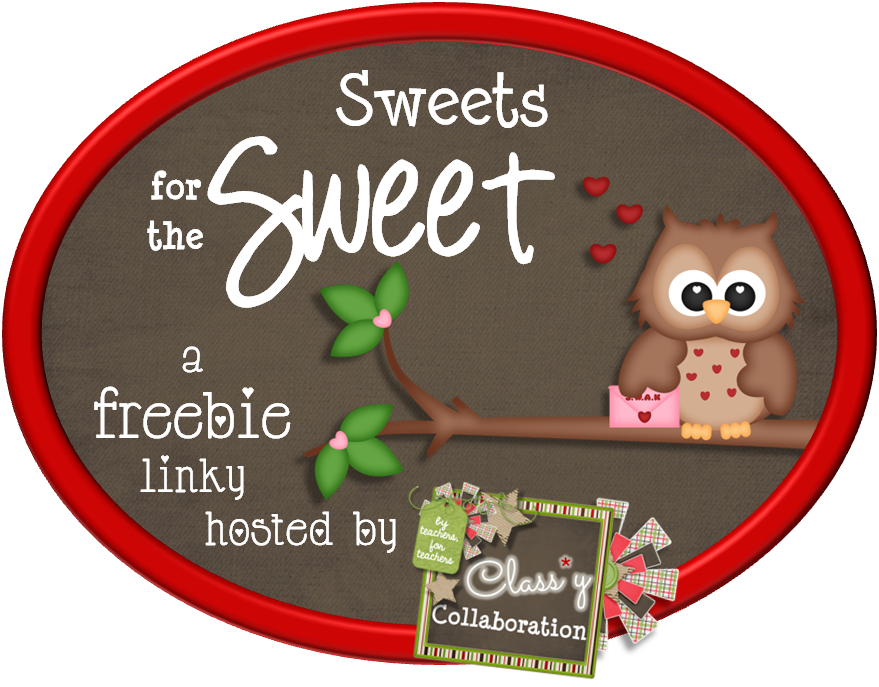 http://aclassycollaboration.blogspot.com/2014/02/sweets-for-sweet-freebie-link-up.html