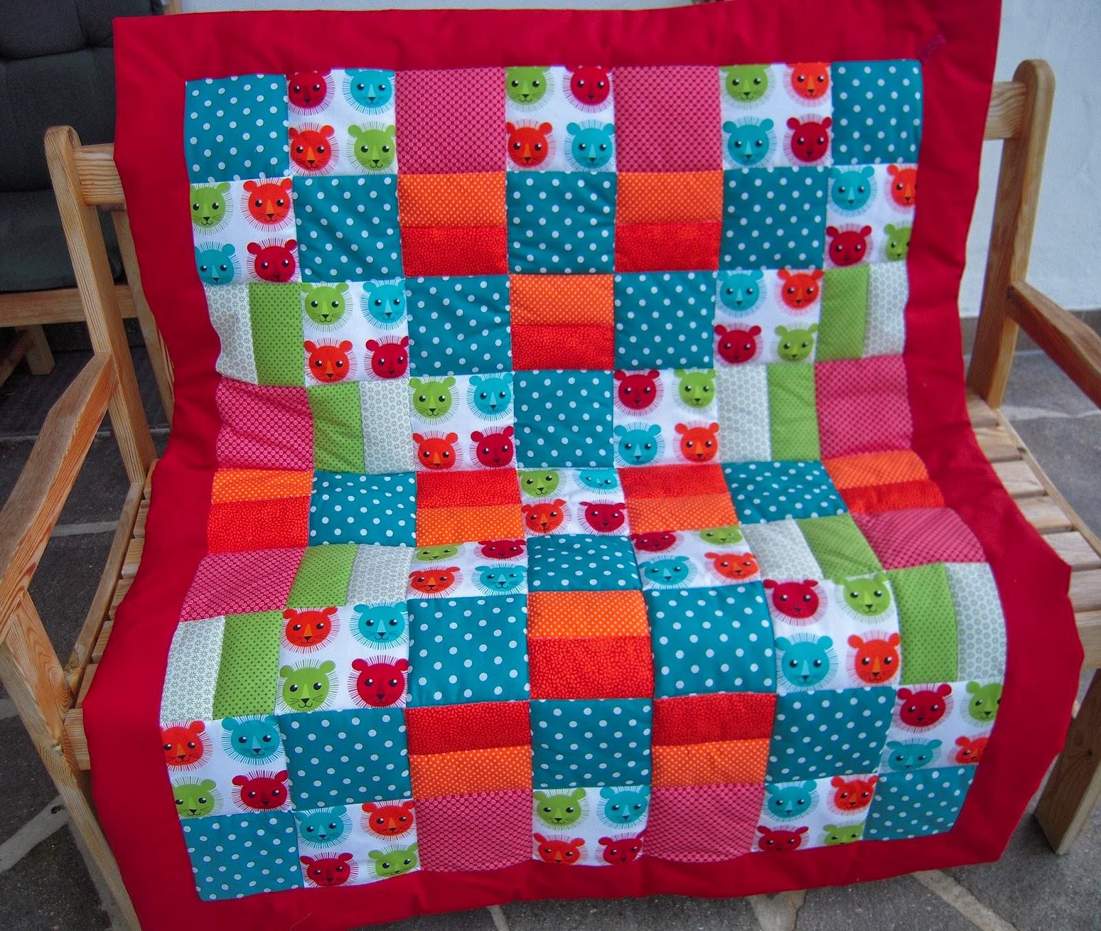 d 39 inge patchwork babydecke l wen. Black Bedroom Furniture Sets. Home Design Ideas