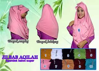 Grosir jilbab sosor instan dengan headpiece cantik dan murah