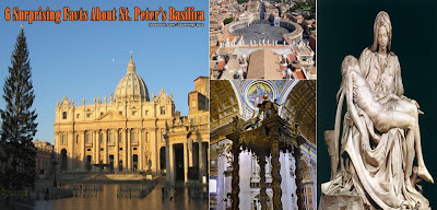 6 Suprising Facts of St. Peter's Basilica