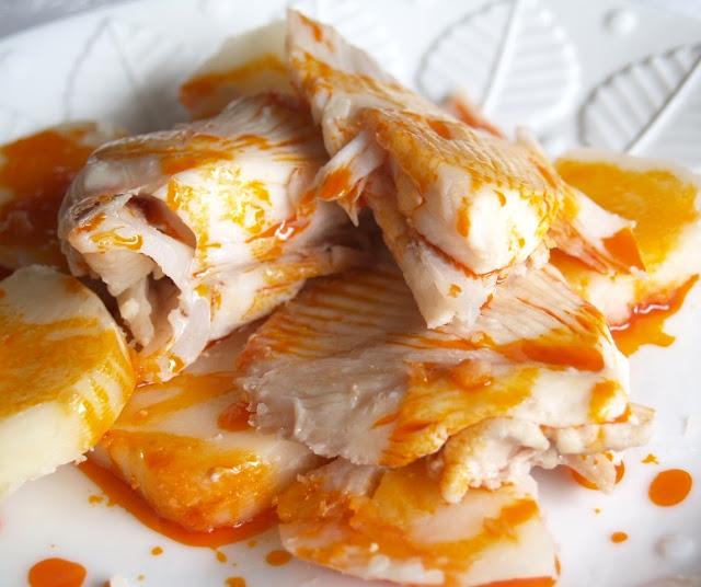 O garfelo raya a la gallega o caldeirada de raya for Cocinar raya a la gallega