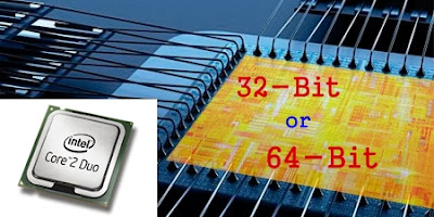 How to determine Computer Processor Bit or whether Processor is 32-bit or 64-bit