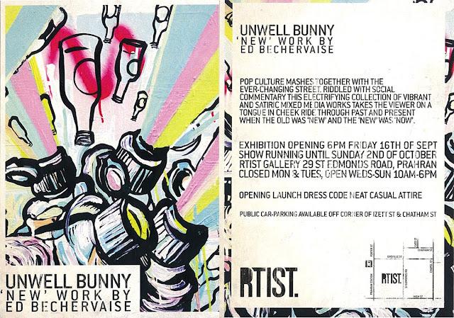 UNWELL BUNNY @ RTIST MELBOURNE 2011