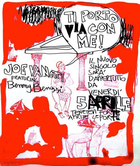 Jovanotti - Ti Porto Via Con Me - copertina testo video ufficiale download