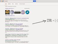 Cara memperbesar atau memperkecil  halaman website atau tampilan browser