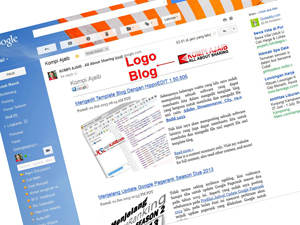 Logo Blog Pada Header Email Subscriptions
