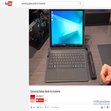 youtube com - samsung galaxy book ön inceleme