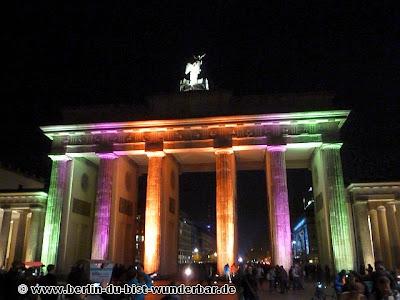 fetival of lights, berlin, illumination, 2012, Brandenburger Tor