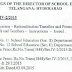 TS Rc 1848 Guidelines on Transferred Teachers Relieving