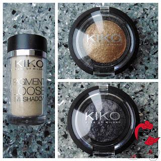 Mein KIKO Haul - Pigmente & Lidschatten - Pigment Loose Eyeshadow & Colour Sphere Eye Shadow - Produktbilder und Swatches - www.annitschkasblog.de