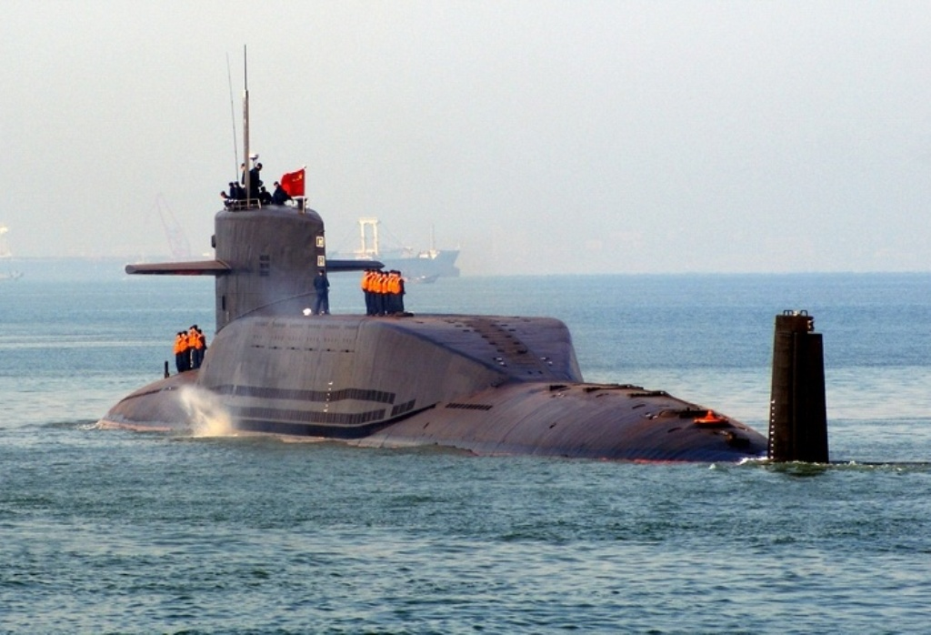 Chinese Type 094 Jin Class Nuclear
