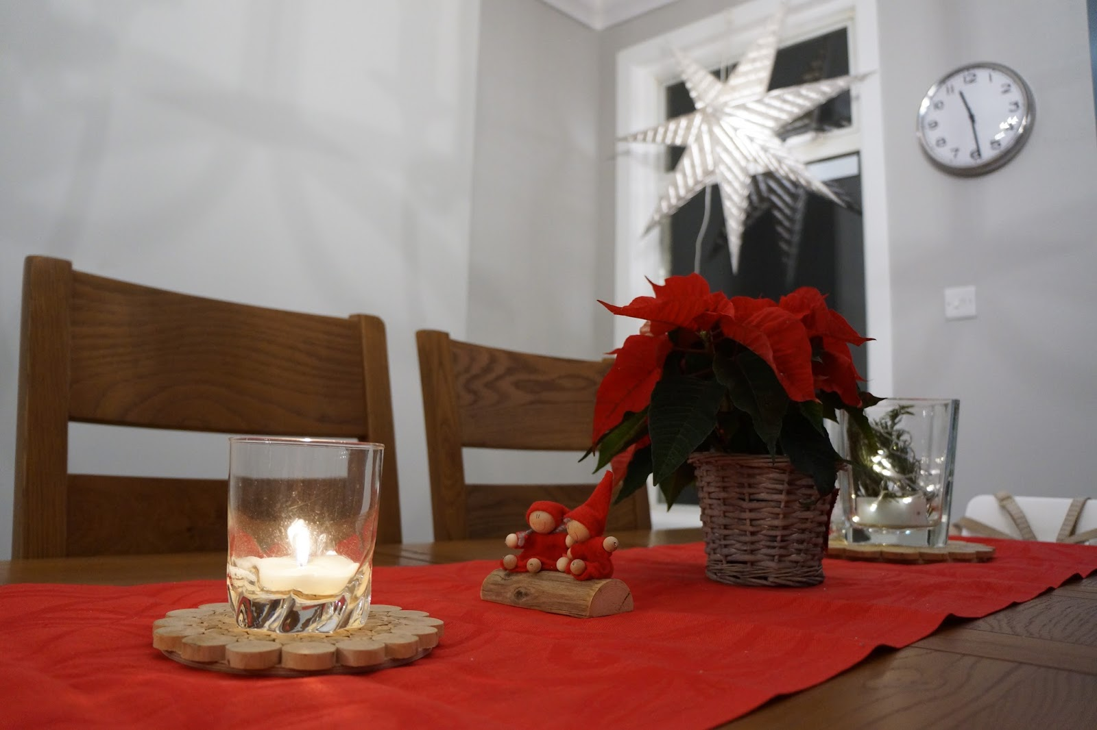 scandinavian finnish christmas home decor table decoration