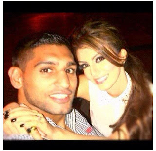 Boxer Amir Khan and Faryal Makhdoom hot