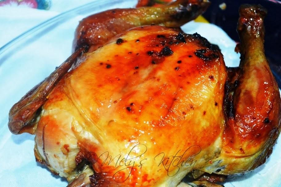 baked chicken soy and honey glazed honey glazed chicken honey mustard ...