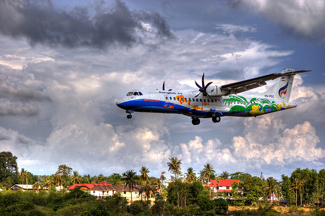 Getting to koh samui by air transportation