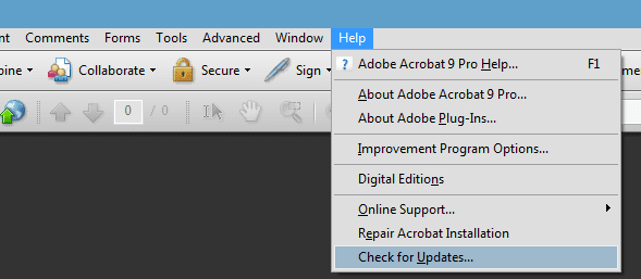 Cara Terampuh Mematikan Adobe Application Updates