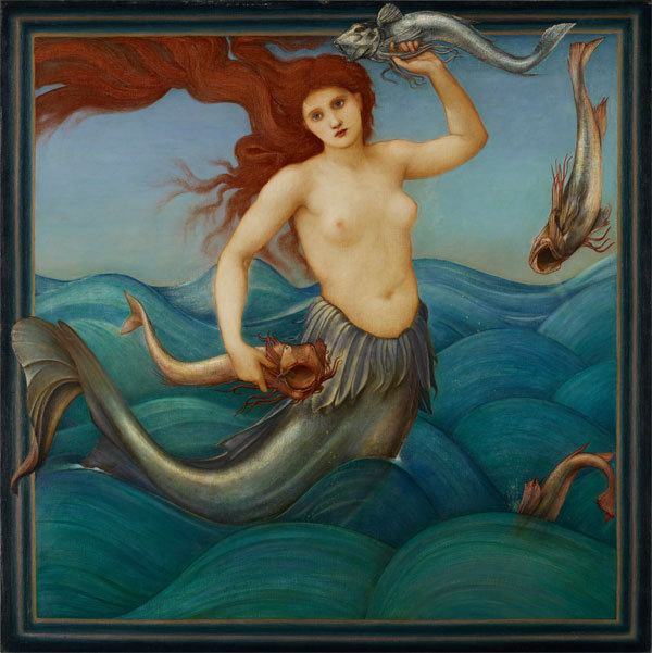 edward burne-jones siren
