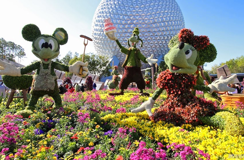 Festival Epcot International Flower e Garden de 2015