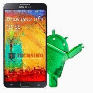 Android v5.0 untuk Galaxy Note 3 SM-N9005 bocor, download sekarang!