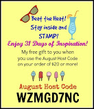 FREE Gift When You Shop With Me In August.