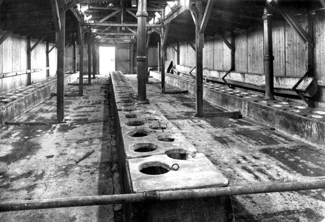 Canarios en  campos de exterminio nazis
